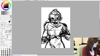 Drawing the Dragonborn!