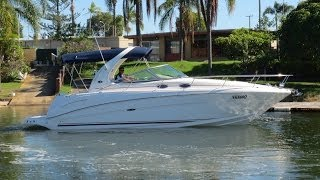 Sea Ray 335 Sports Cruiser 2003 model for sale Action Boating Boat dealer Gold Coast