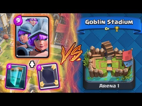 Clash Royale   THREE MUSKETEERS + CLONE TROLLING ARENA 1!   *FUNNY MOMENTS* (Drop Trolling #73)