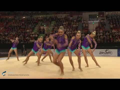 Team Elina Club Greve, DEN - AGG World Championships 2017 Helsinki - Finals