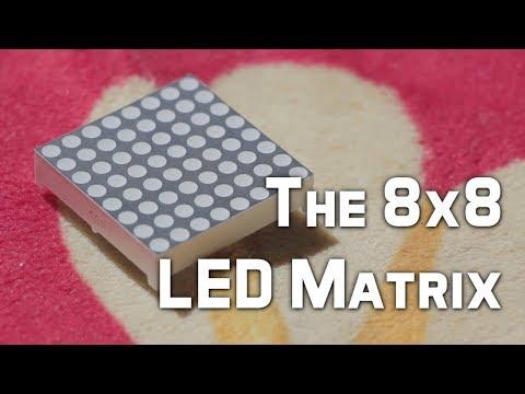8x8 LED Matrix For Arduino