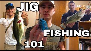 Bass fishing: Basic Jig Fishing