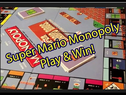 Super Mario Monopoly! A Sizzletastic game night.
