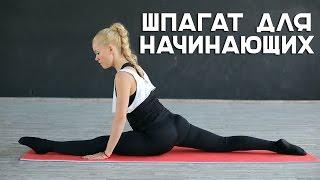 Шпагат для начинающих [Workout | Будь в форме](Наш комплекс упражнений займет у вас не более 10-15 минут. Выполняя их 2 раза в день не менее 4-5 раз в неделю,..., 2015-10-19T09:36:18.000Z)