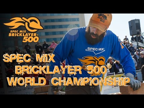 SPEC MIX Bricklayer 500® World Championship 2016