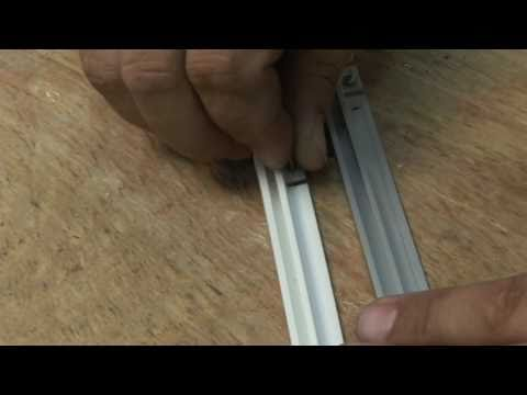 How To Install Cubicle Curtain Track Brite Inc Doovi
