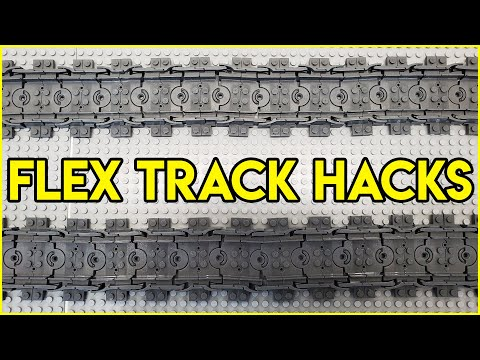 LEGO Flex Track HACKS