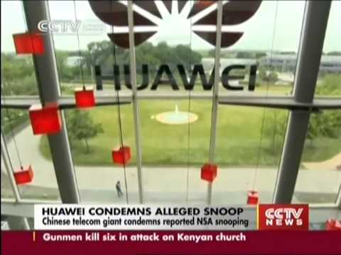 Huawei condemns alleged NSA snooping