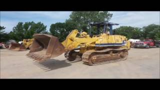 1993 Komatsu D66S track loader for sale | no-reserve Internet auction August 25, 2016