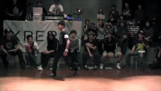 Yu-ki (九州男児 Jr.) vs Shigekix (K.A.K.B) QUARTER FINAL① / DANCE@LIVE KIDS HOKURIKU vol.2 2015