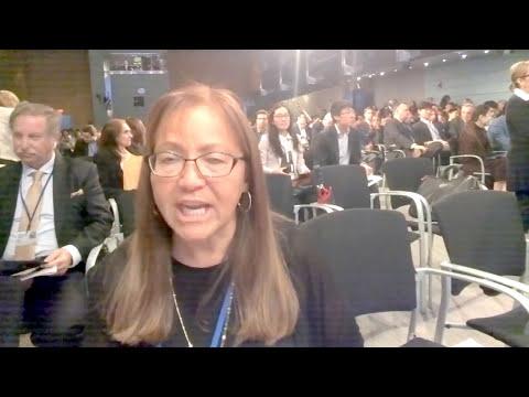 CI Africa interviews GE Ventures CEO Sue Siegel at #IMFMeetings