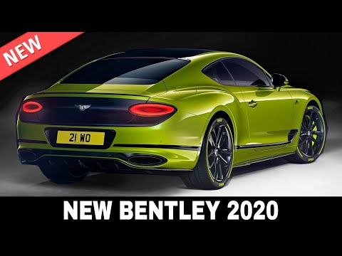 8 All-New Bentley Cars And Exclusive SUVs Showing Off Luxurious Heritage In 2020