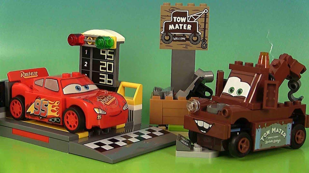 Lego McQueen Lightning Cars 3 Vitesse lanceur 10730