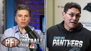 Carolina Panthers fire head coach Ron Rivera | Pro Football Talk | NBC Sports