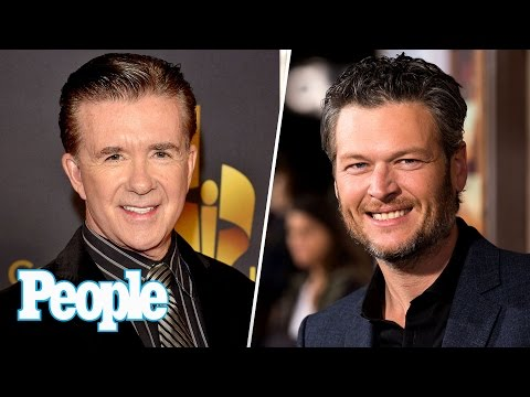 Ellen DeGeneres & More React To Alan Thicke Death, Blake Shelton Messages Fan | People NOW | People