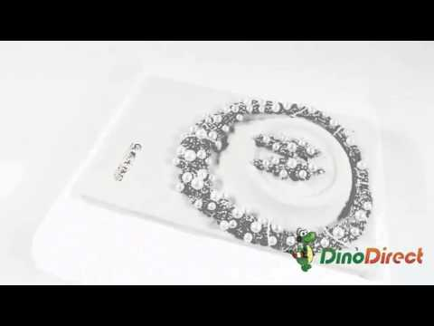 Wedding Bride Jewelry Set Necklace Earrings Gold Plated A30540000L