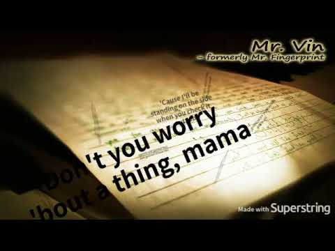 Don't You Worry Bout A Thing - Meena (Movie version w/intro) - MinusOne/Karaoke/Instrumental HQ