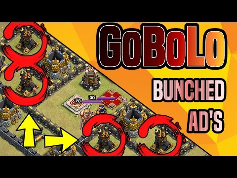 Clash of Clans | GOBOLO BEST ATTACK STRATEGY FOR HEAVY TH9 AIR DEFENSES