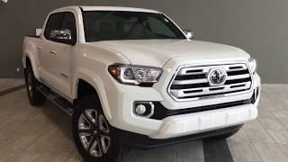 2018 Toyota Tacoma 4X4 Double Cab V6 Limited | Toyota Northwest Edmonton | 8TA6437