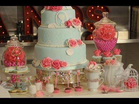 Torta vintage decoracion de tortas rosas flores for Decoracion de tortas espejo