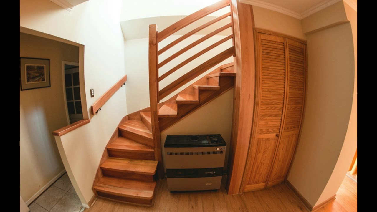 dise os de escaleras de madera youtube