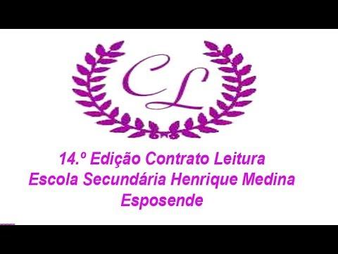 14.º Contrato Leitura da Escola Secundária Henrique Medina em Esposende
