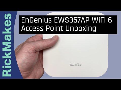 EnGenius EWS357AP WiFi 6 Access Point Unboxing - YouTube