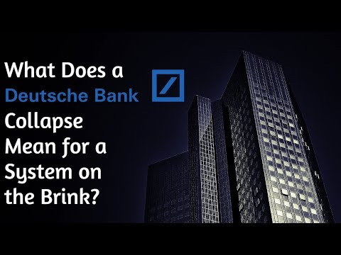 What Would a Deutsche Bank Collapse Look Like?