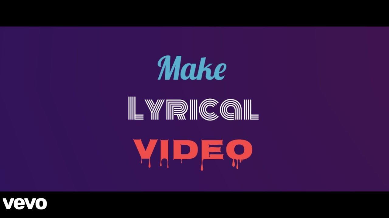 How to make Lyrical Video in Kinemaster | Very Easy | kinemaster Tutorial