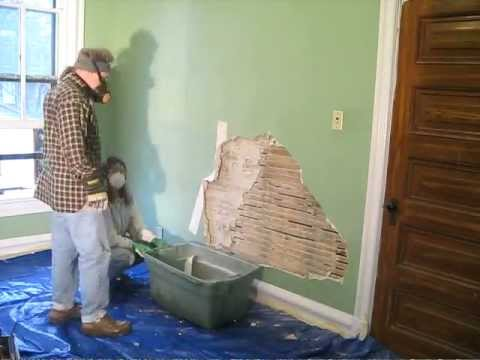 Finding A Bulge In A Plaster Wall Youtube