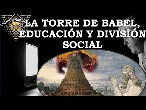 La torre de Babel y la division humana