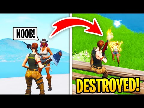 I Met A TOXIC GIRL In Fortnite Squad Fills, Then DESTROYED Her (RAGE) thumbnail