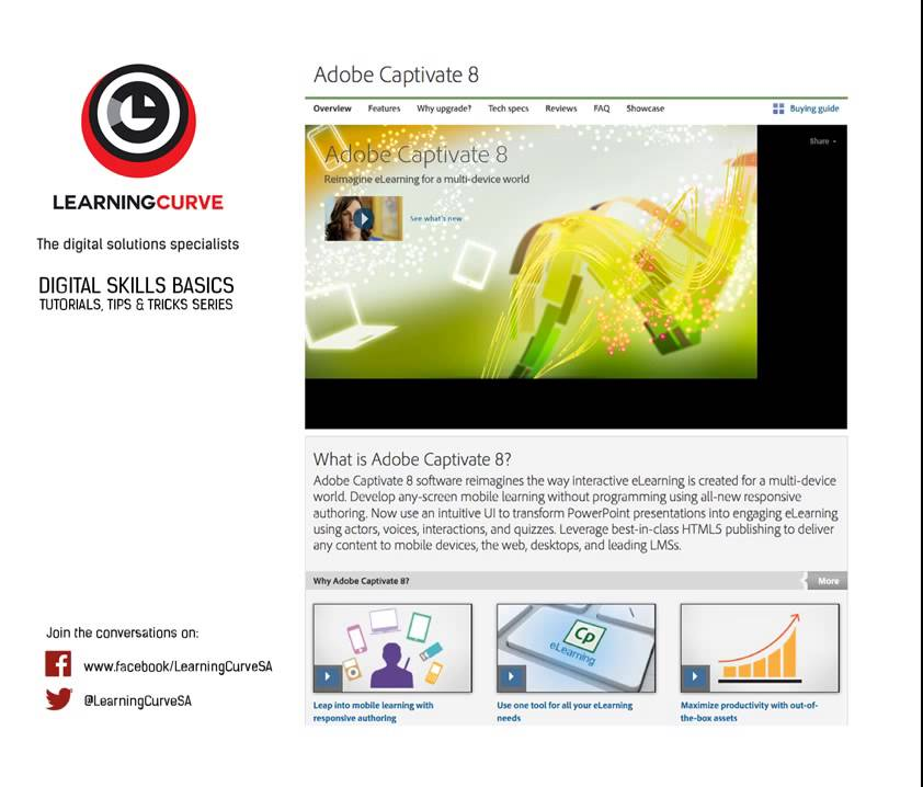 elearning tutorial 1 of 4 roundtripping between adobe captivate 8 rh youtube com