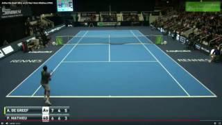 Top 10 Saving Match Points - ATP Challenger 2017 - Part 1