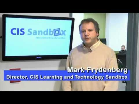 Introducing the CIS Sandbox