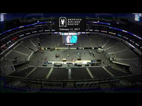 Hockey To Basketball Conversion | American Airlines Center