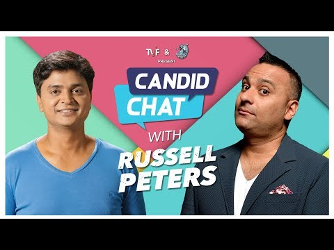Candid Chat With Russell Peters   Vipul Goyal   Supermoon
