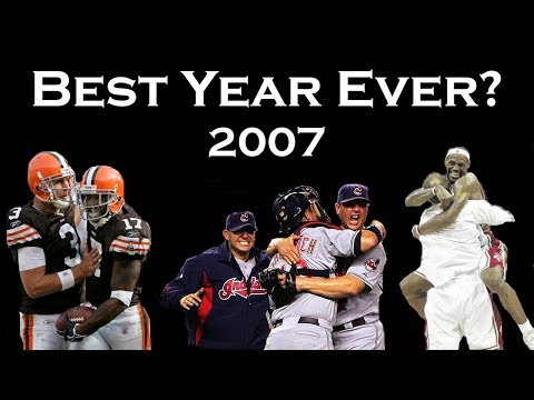 Was 2007 The Greatest Year In Cleveland Sports History?