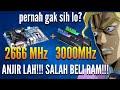 - Motherboard dan RAM beda Frequensi ? Clock RAM lebih tinggi dari Motherboard, apa yang akan TERJADI?