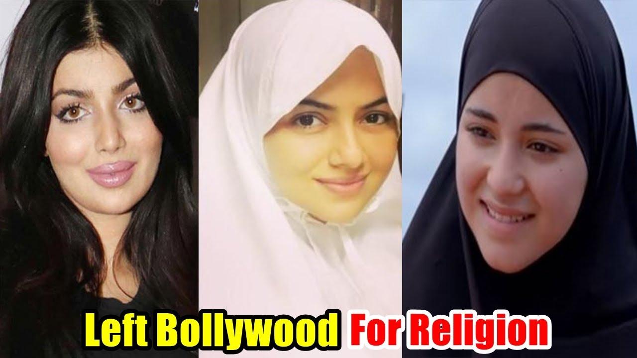 Download Top 7 Bollywood Stars who Left Bollywood For Religion   Sana Khan, Zaira Wasim, Ayesha Takia