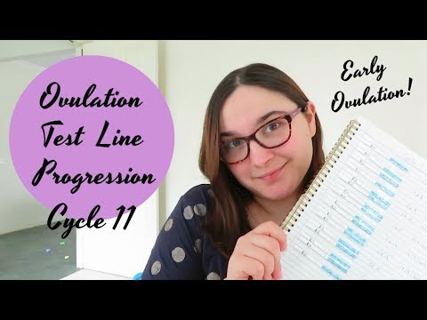 Ovulation Test Line Progression Cycle 11 || Early ovulation and all the excitment || TTC Baby #2