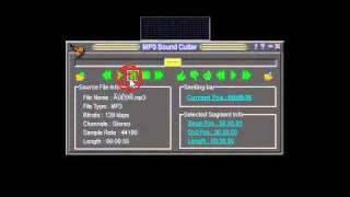 شرح برنامج تقطيع الموسيقى power mp3 cutter