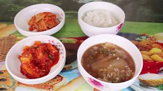 Корейский суп из пекинской капусты Baechu-guk (Napa Cabbage soup) Кочудян рецепт Gochujang recipe