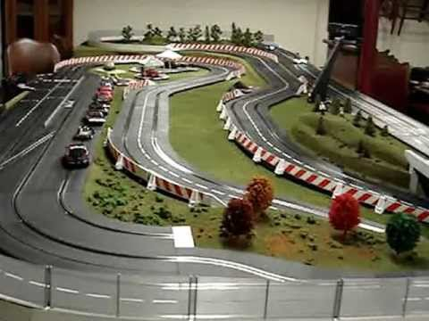 Carrera ghost slot cars in action