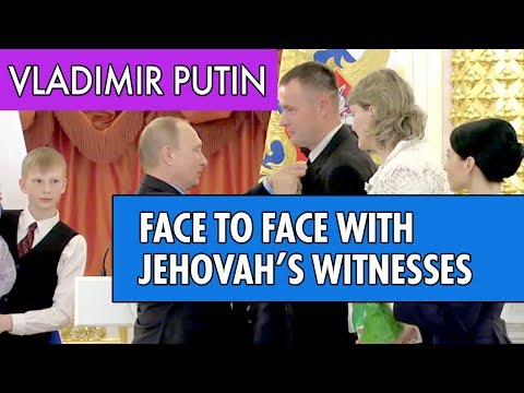 Vladimir Putin gets face-to-face with Jehovah