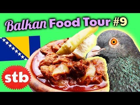 Trying Muckalica & Burek // Serbian Food in Sarajevo, Bosnia
