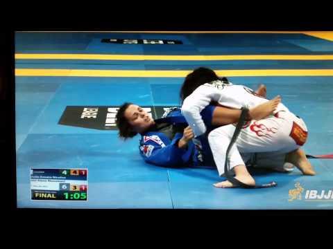 Nicolini breaks Musumeci's arm