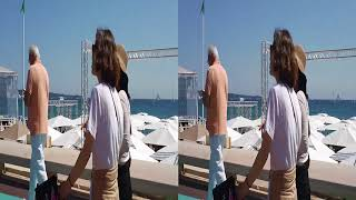 The most beautiful places in the world: Cannes in 3D SBS video