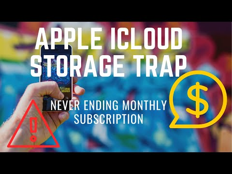 Apple iCloud Storage Never Ending Subscription Trap