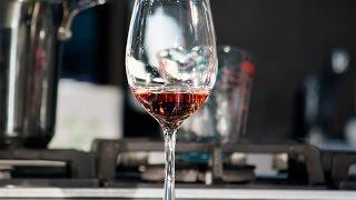 Cata de vinos. Comida saludable
